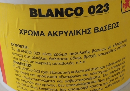 BLANCO 023